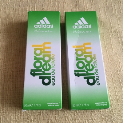 Adidas Womens Floral Dream Perfume - Set of 2