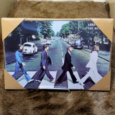 THE BEATLES Abbey Road Tin Sign