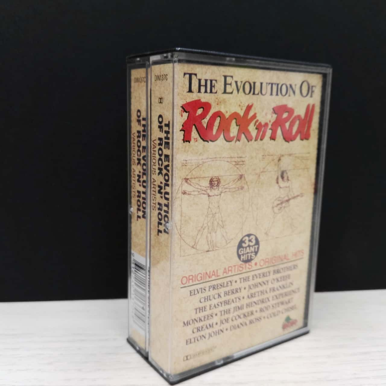 Music Cassette - Double Album - The Evolution Of Rock & Roll