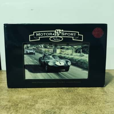 Motor Sports Jigsaw 1000 Piece Puzzle In Collectible Tin