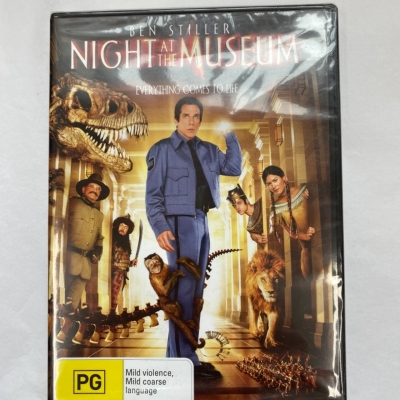 ** REDUCED LAST CHANCE ** Ben Stiller Night At The Museum PG rating - In Original Package