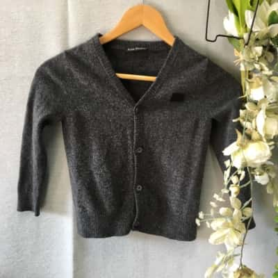 Acne Studios Kids Cardigan Size 4/5/6 Grey
