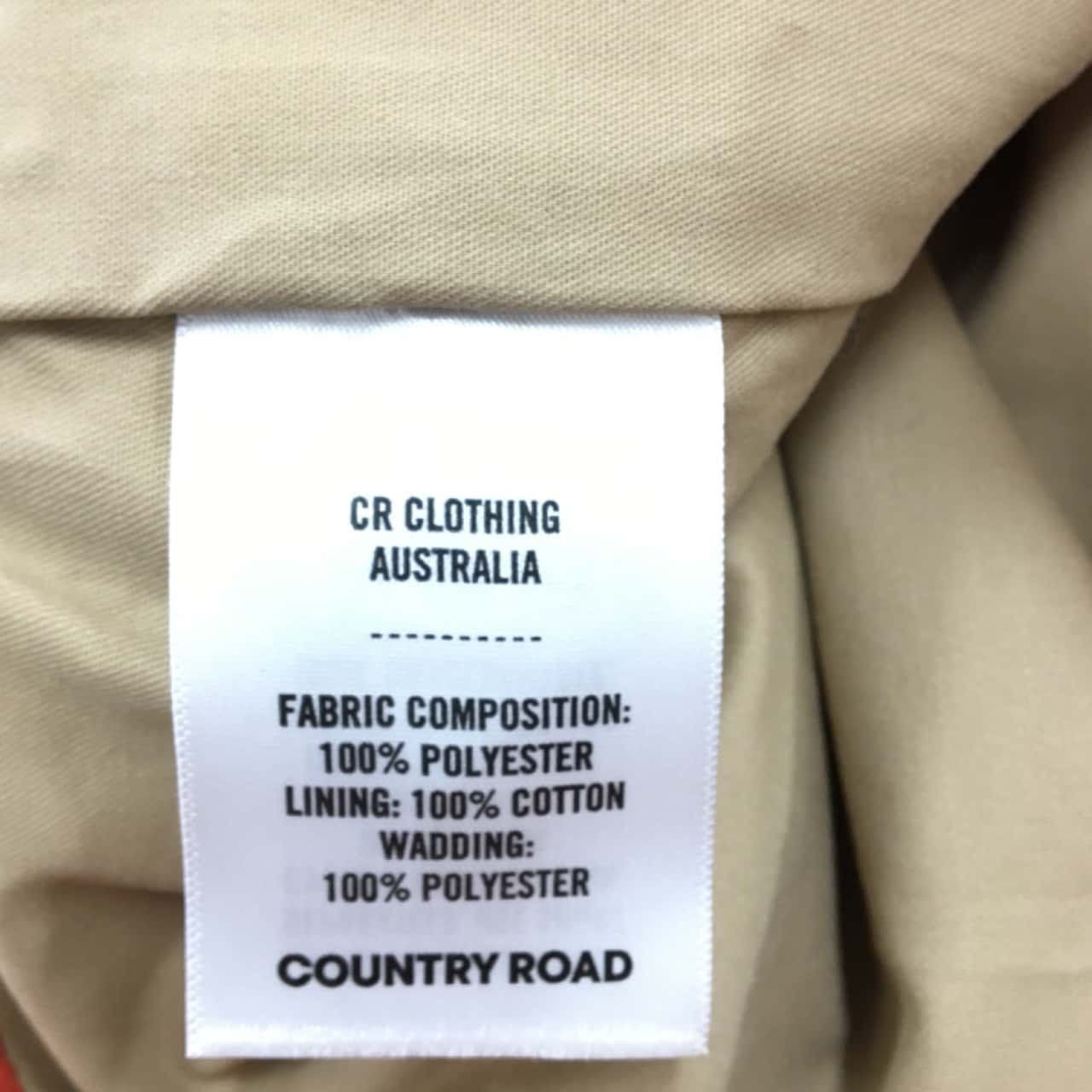 Country Road Mens Vests Orange