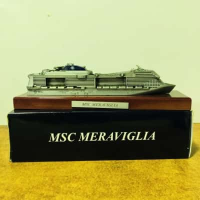 MSC Meraviglia Cruise Ship Display Ship