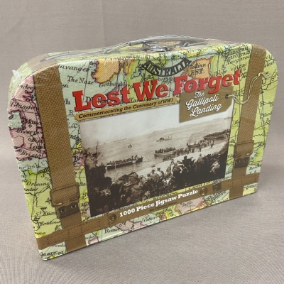 The Gallipoli Landing Jigsaw Puzzle 1000 Piece Brand New