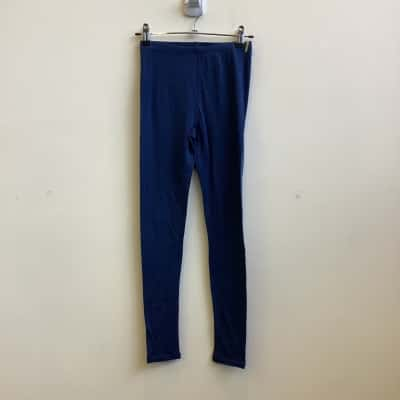 Kathmandu Kids Sportswear Blue Thermal 100% Merino Wool Bottom