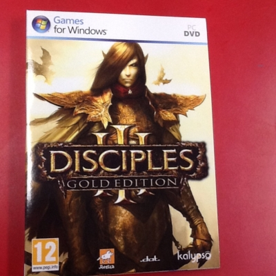 Disciples gold edition PC game