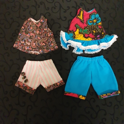 2 Dora The Explorer Doll Outfits