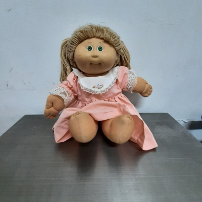 Retro cabbage patch doll