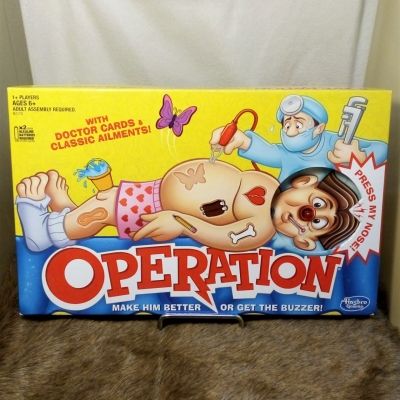 OPERATION Board Game Hasbro Gaming