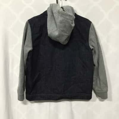 Quicksilver Kids Jacket Size 6 Blue/Grey