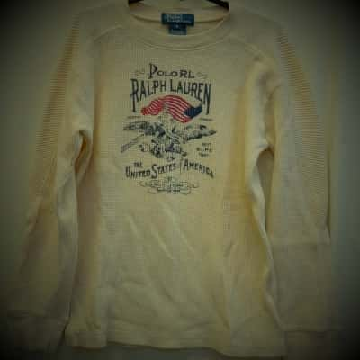 Polo Ralph Lauren Kids Size 6 Tops & T-Shirts White