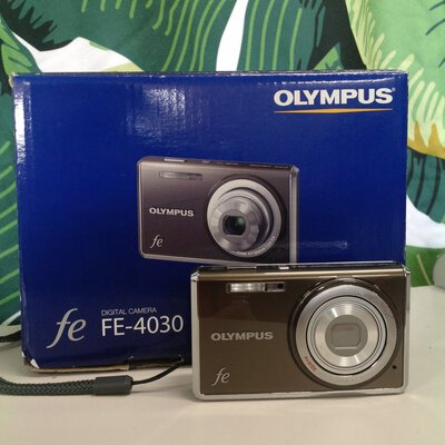 Olympus FE 4030 camera with no charger