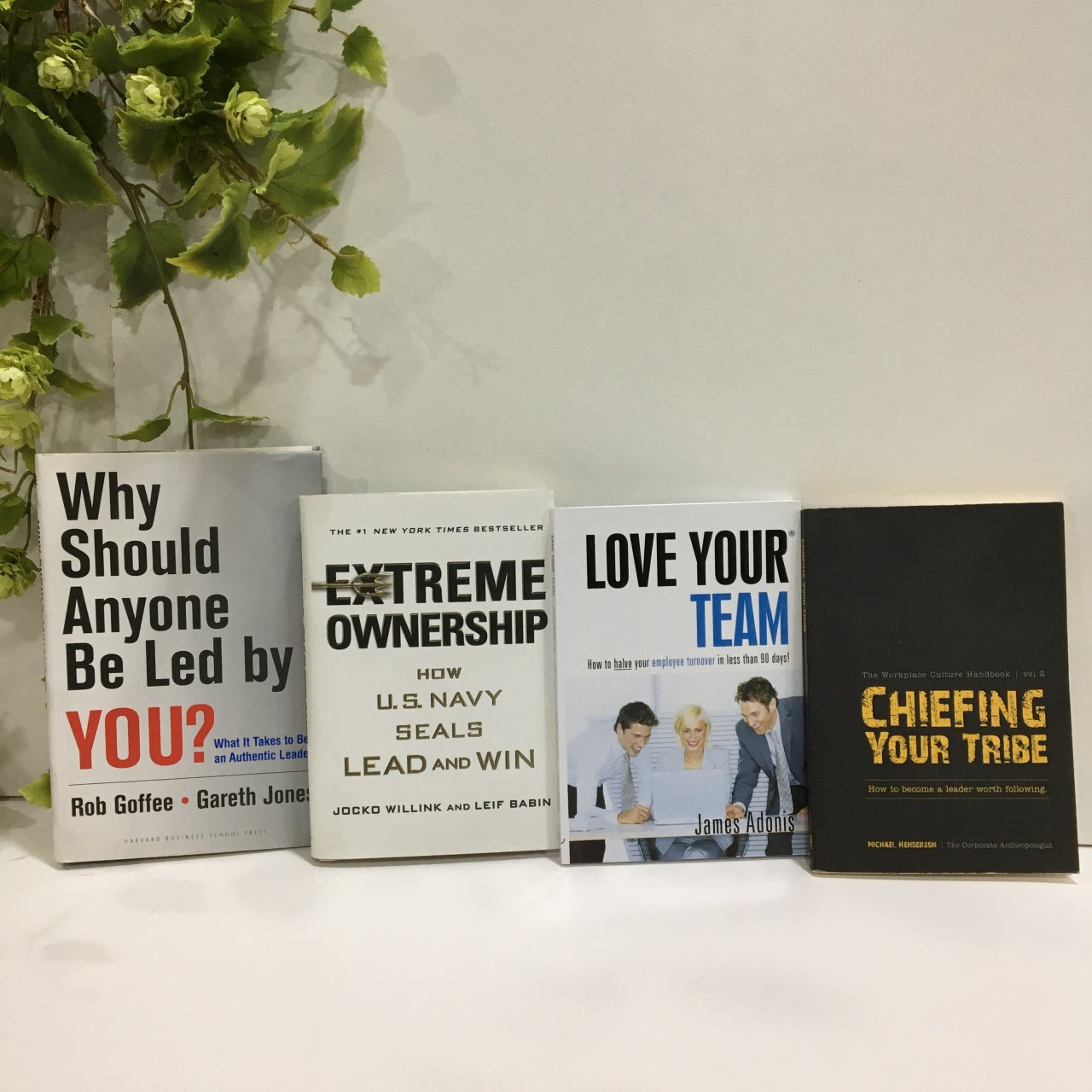 50% Off - Leadership Bundle, x 4 Books