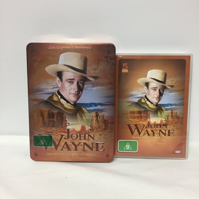John Wayne Collectors Edition DVD Set