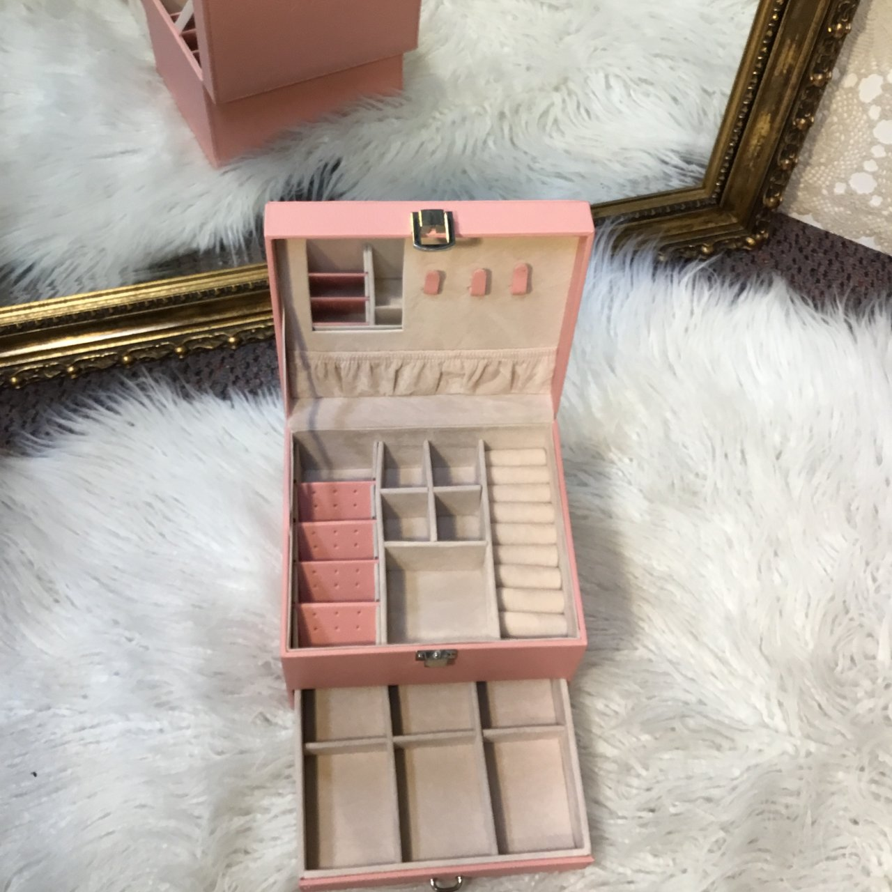 Natio Pink Jewellery Box