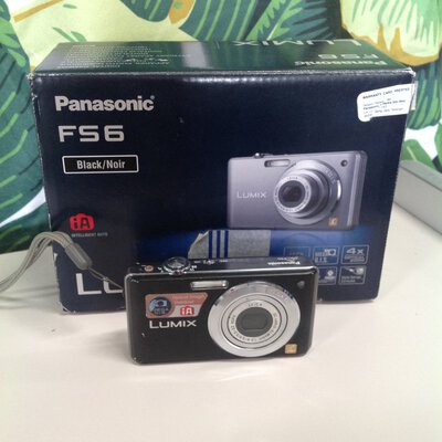 Panasonic DMC FS6 camera with no charger