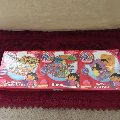 Dora The Explorer 3 Pack Games, Brand New